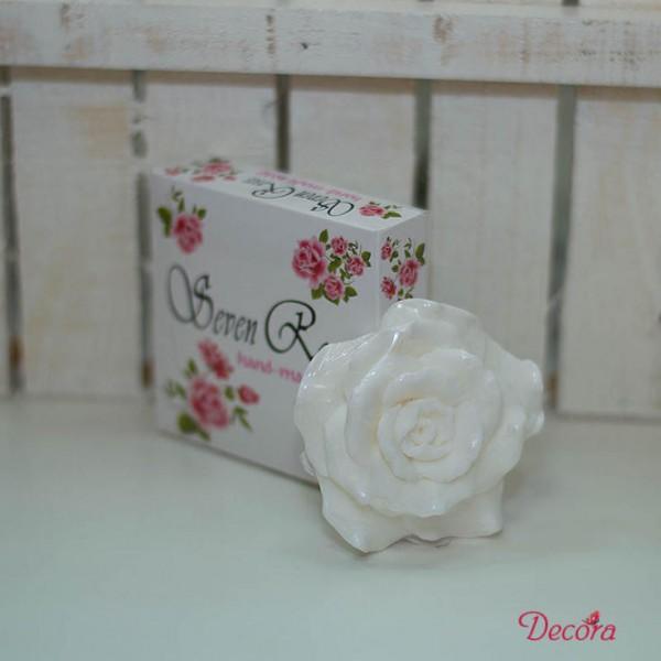 1001-KK. Натурален сапун Бяла роза, 50 грама