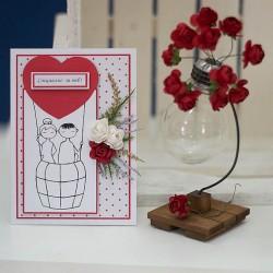 2008-РР. Картичка Любовен Балон