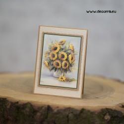 1110-РР. Поздравителна картичка Слънчогледи