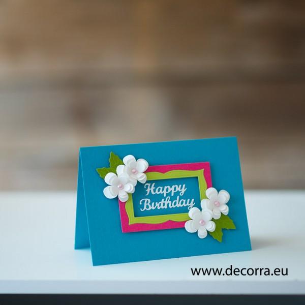 1167-PP. Поздравителна картичка Рожден ден на жена