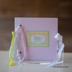 1011-PPР. Бебешки албум Моята първа годинка с рингове
