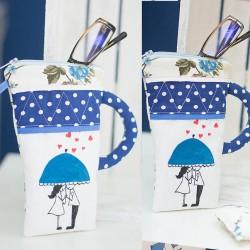 2018-PP. Калъф за очила Любовен син чадър