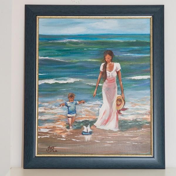 2005-КР. Картина Игра на брега