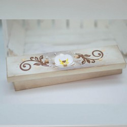 2024-MB. Кутия Бяла Орхидея