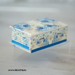 2058-MB. Кутия за бижута Сини рози