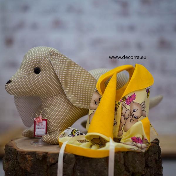 3042-DD. Комплект Куче от плат с два празнични костюма