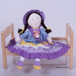 3006-DD. Деко Кукла от плат Тами
