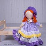 3018-DD. Кукленски комплект с кукла Лори - 10 части