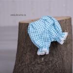 3014-DD. Мека кукла от плат Рени с модни аксесоари