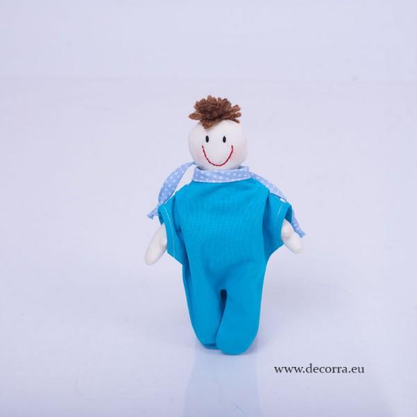 3056-DD. Бебешка детска кукла Момче