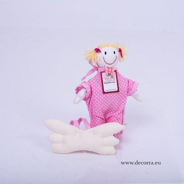 3066-DD. Бебешка кукла Ангелче момиче