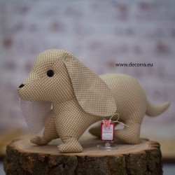 3077-DD. Деко играчка куче Дакелче