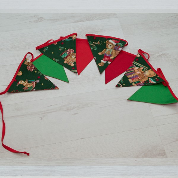 3034-PP. Коледни знаменца Мечета