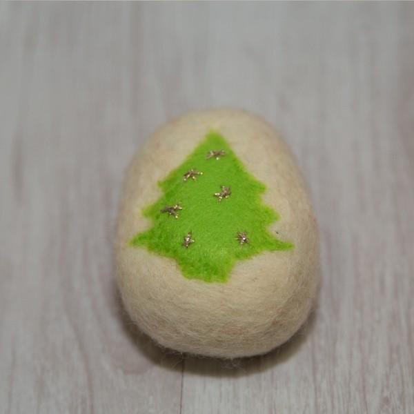 3035-PP. Плъстен Сапун Коледно дърво