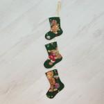 3054-PP. Коледни ботушчета Мечета
