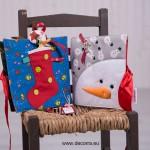 3071-DD. Тиха книжка Коледни символи и герои
