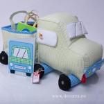 4004-DD. Детски конструктор Камион от плат