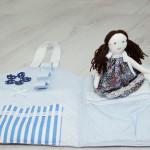 4047-DD. Занимателна тиха Къща с Кукла за игра
