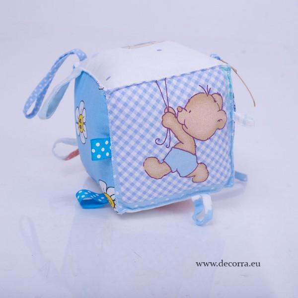 4029-DD. Занимателно бебешко кубче за момче