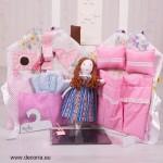 4027-DD. Магическа къща с кукла, дрехи, закачалка, тебешири