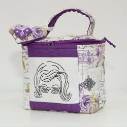 5011-MB. Козметична чанта Вълшебство Лила