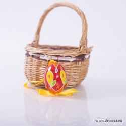 4004-PP. Рисувано Великденско яйце декорация
