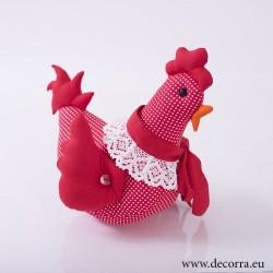 4005-PP. Великденска Кокошка червена