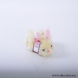 4011-PP. Великденско Жълто Зайче помпон