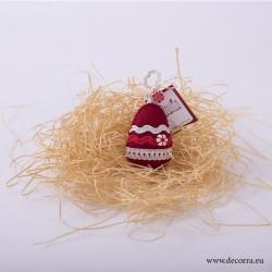 4067-PP. Червено Яйце за украса