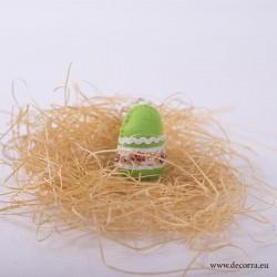 4025-PP. Великденско Яйце за украса, резеда