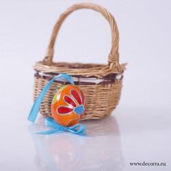 4037-PP. Рисувано Великденско яйце декорация