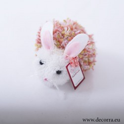 4038-PP. Великденско шарено Зайче помпон