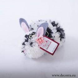 4046-PP. Великденско бяло-черно Зайче
