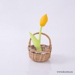 4062-PP. Декоративно жълто Лале