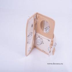 5061-MB. Портмоне с огледало Агънца