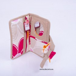 5034-MB. Арт портмоне несесер с огледало