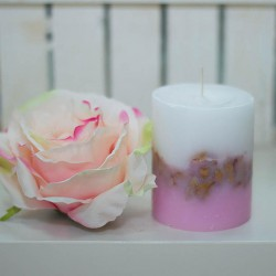 1010-LS. Ароматна свещ Роза
