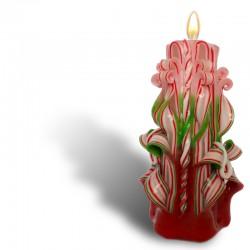 3013-LS. Коледна Карвинг свещ