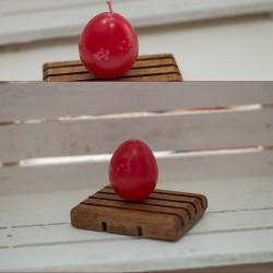1024-LS. Свещ Великденско яйце