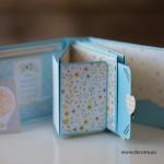 1017-PPР. Мини детски албум за бебе момче