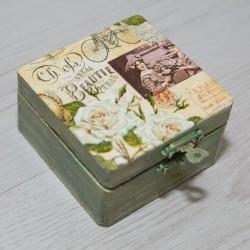2007-MB. Кутия за бижута Винтидж Ретро
