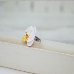 2026-MB. Пръстен Бяла Орхидея