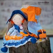 Кукли от плат с аксесоари