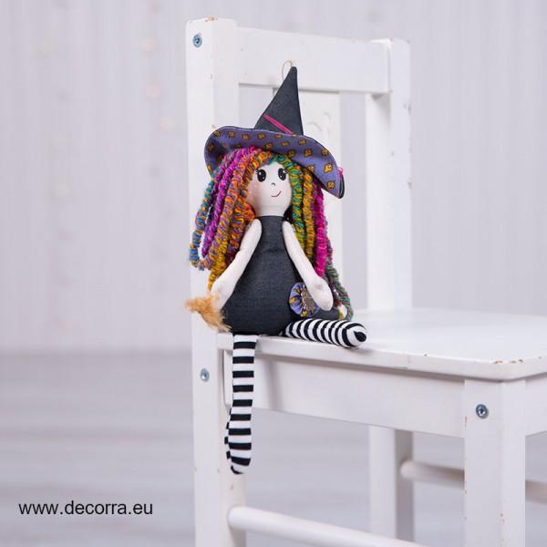 3098-DD. Кукла Вещица от плат