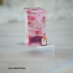 3038-DU. Дървена кутия за пакетчета чай