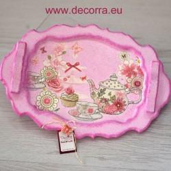 3037-DU. Табла за сервиране на чай