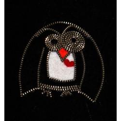 3039-MB. Брошка Пингвин