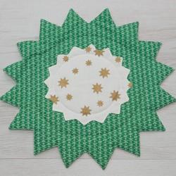 3030-PP. Двустранно каре Коледна звезда