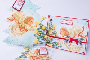 Ангелски комплект, подарък за Коледа или за Нова година