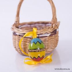 4021-PP. Рисувано Великденско яйце декорация